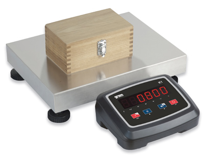 balance plate forme industrielle 60kg x 10g mat riel de pesage professionnel ebay. Black Bedroom Furniture Sets. Home Design Ideas